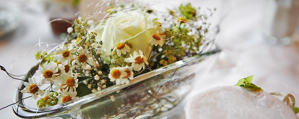 Blumen Naturelle  Elzach - Tischdekoration
